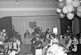 1950s Valentine's Day Dance, Great Hall Stage (notice the proscenium)